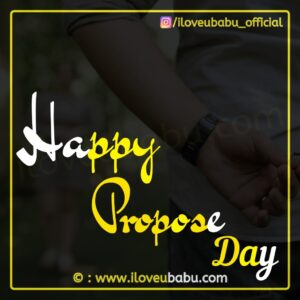 Propose Day Kab Hai Date 2021
