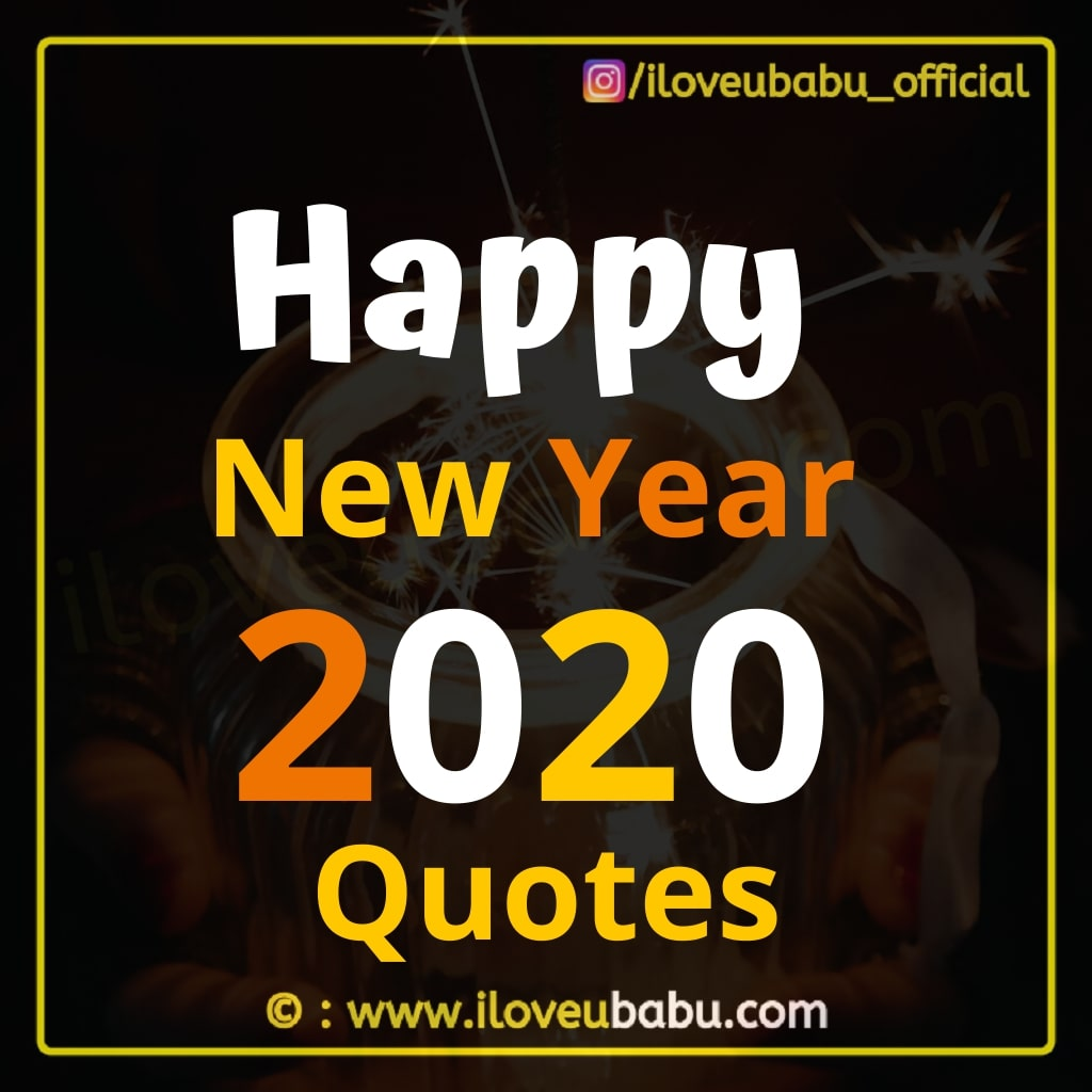 Happy New year 2020 Quotes - Short Status In Hindi