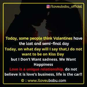 Kiss Day Images Quotes In English
