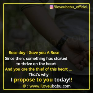 Propose Day Images Quotes In English